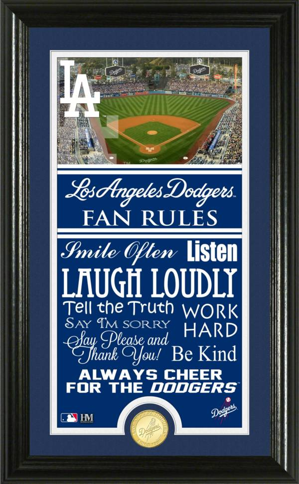 Highland Mint Los Angeles Dodgers Fan Rules Coin Photo Mint product image