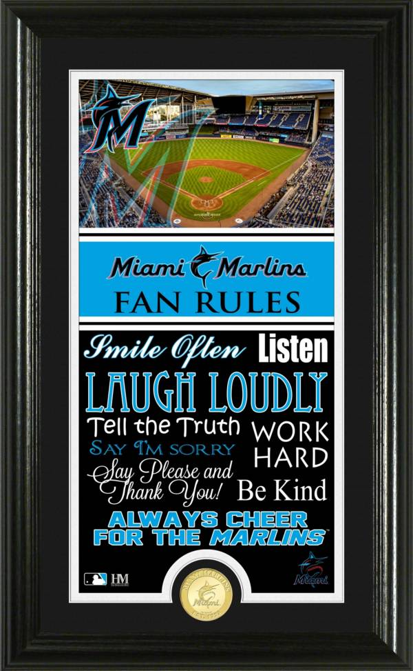 Highland Mint Miami Marlins Fan Rules Coin Photo Mint product image