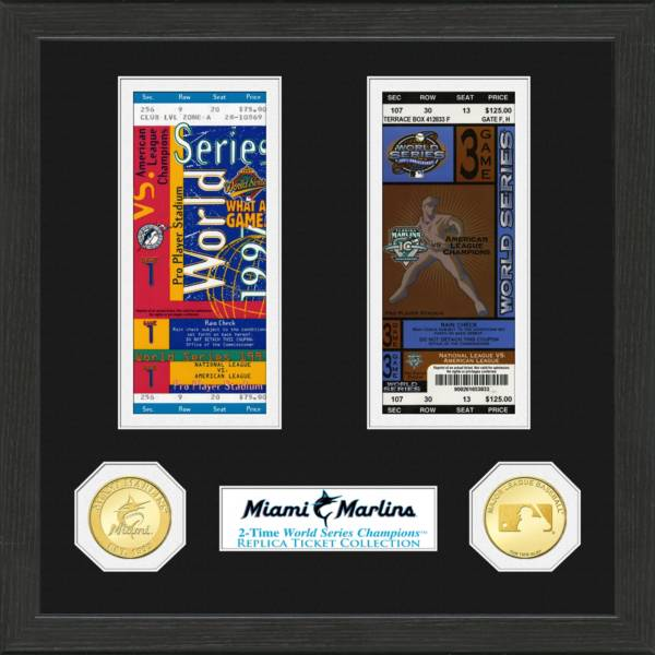 Highland Mint Miami Marlins Standard Ticket Frame product image