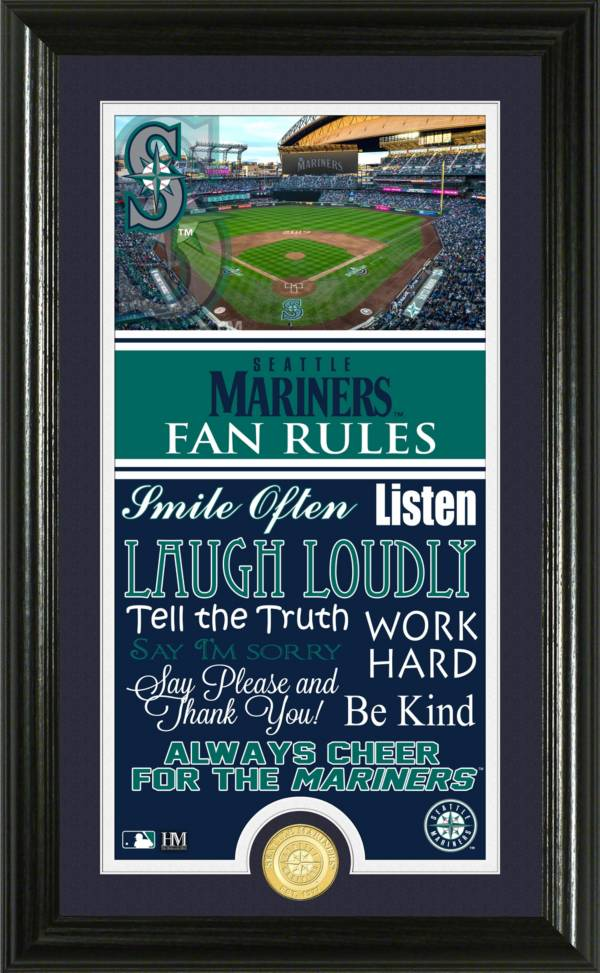 Highland Mint Seattle Mariners Fan Rules Coin Photo Mint product image