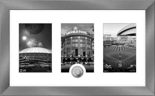 Highland Mint Seattle Mariners Art Deco Silver Coin Photo Mint product image