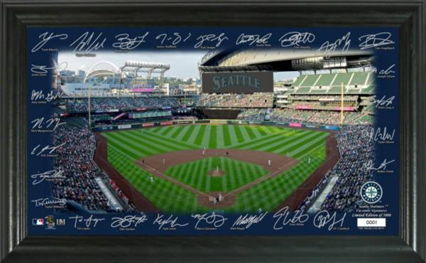 Highland Mint Seattle Mariners 2020 Signature Field Photo Frame product image