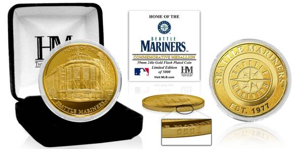 Highland Mint Seattle Mariners Stadium Gold Coin product image