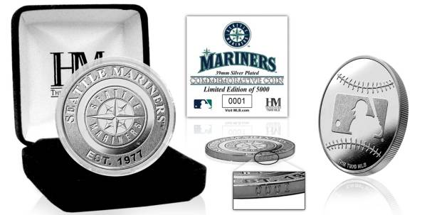 Highland Mint Seattle Mariners Silver Team Coin product image