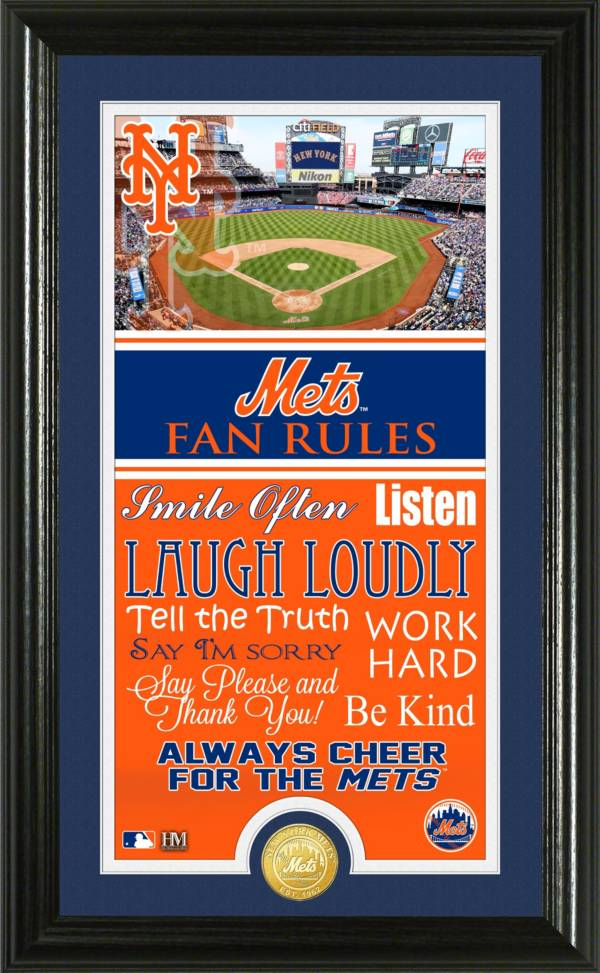 Highland Mint New York Mets Fan Rules Coin Photo Mint product image