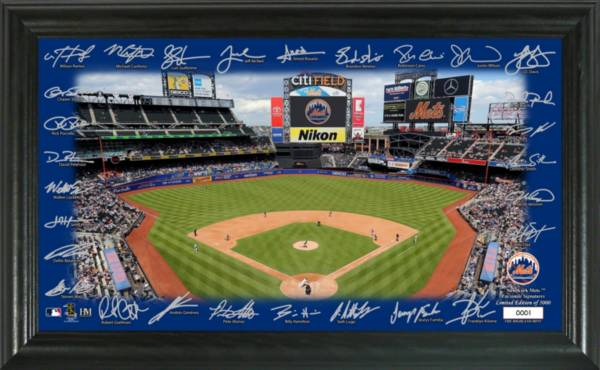 Highland Mint New York Mets 2020 Signature Field Photo Frame product image