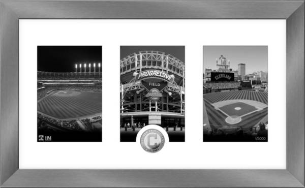 Highland Mint Cleveland Indians Art Deco Silver Coin Photo Mint product image