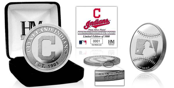 Highland Mint Cleveland Indians Silver Team Coin product image