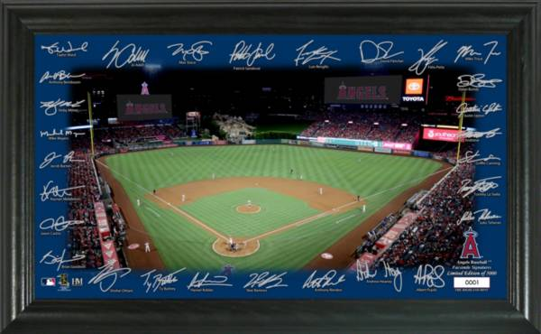 Highland Mint Los Angeles Angels 2020 Signature Field Photo Frame product image