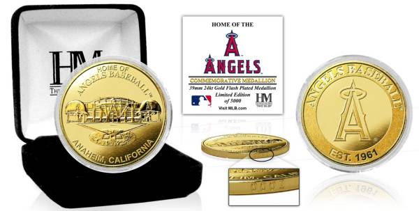 Highland Mint Los Angeles Angels Stadium Gold Coin product image