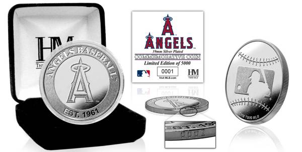 Highland Mint Los Angeles Angels Silver Team Coin product image
