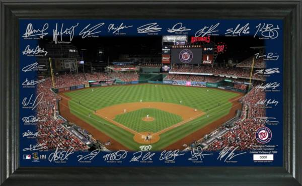 Highland Mint Washington Nationals 2020 Signature Field Photo Frame product image