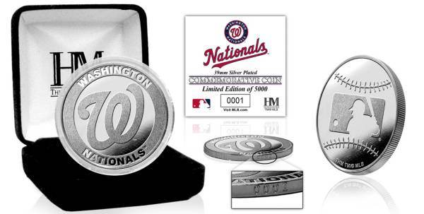 Highland Mint Washington Nationals Silver Team Coin product image