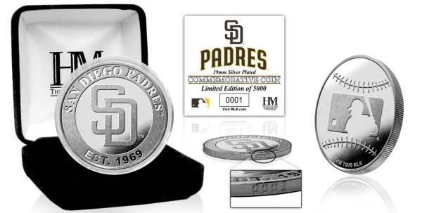 Highland Mint San Diego Padres Silver Team Coin product image