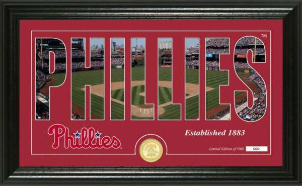 Highland Mint Philadelphia Phillies Silhoutte Panoramic Photo Mint product image