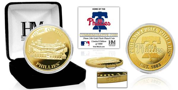 Highland Mint Philadelphia Phillies Stadium Gold Coin product image