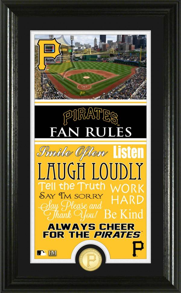 Highland Mint Pittsburgh Pirates Fan Rules Coin Photo Mint product image