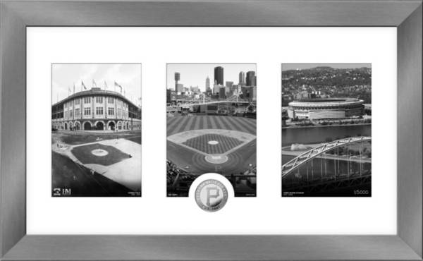 Highland Mint Pittsburgh Pirates Art Deco Silver Coin Photo Mint product image