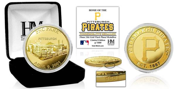 Highland Mint Pittsburgh Pirates Stadium Gold Coin product image