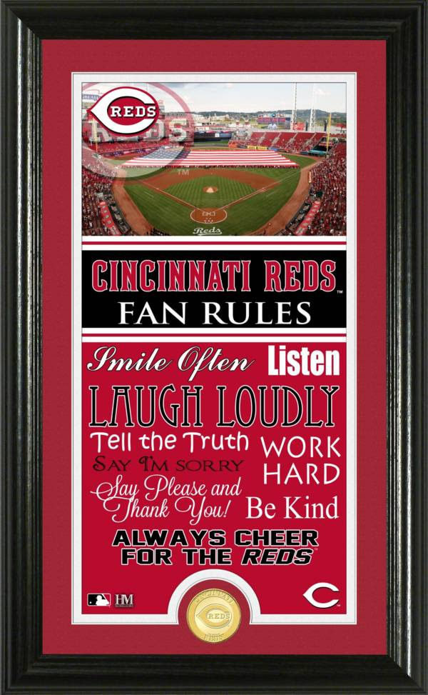 Highland Mint Cincinnati Reds Fan Rules Coin Photo Mint product image