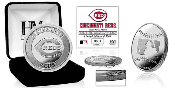 Highland Mint Cincinnati Reds Silver Team Coin product image
