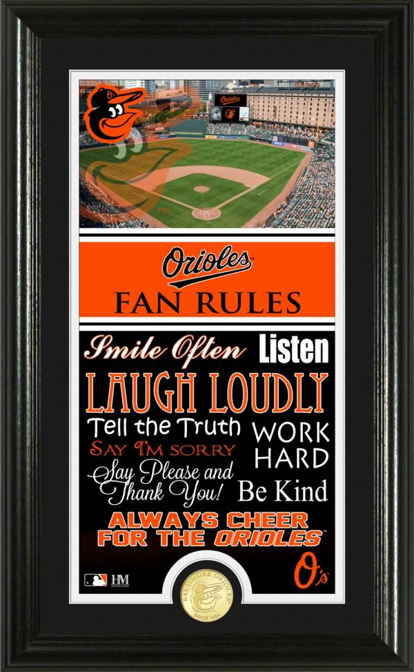 Highland Mint Baltimore Orioles Fan Rules Coin Photo Mint product image