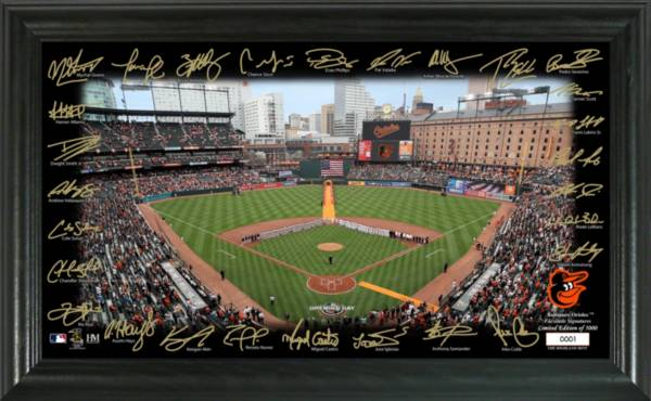 Highland Mint Baltimore Orioles 2020 Signature Field Photo Frame product image