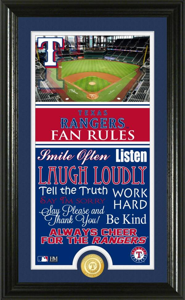 Highland Mint Texas Rangers Fan Rules Coin Photo Mint product image
