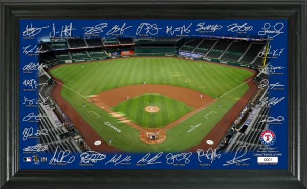 Highland Mint Texas Rangers 2020 Signature Field Photo Frame product image