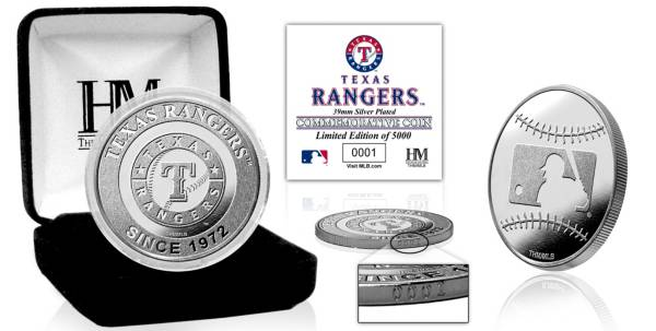 Highland Mint Texas Rangers Silver Team Coin product image