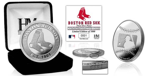 Highland Mint Boston Red Sox Silver Team Coin product image