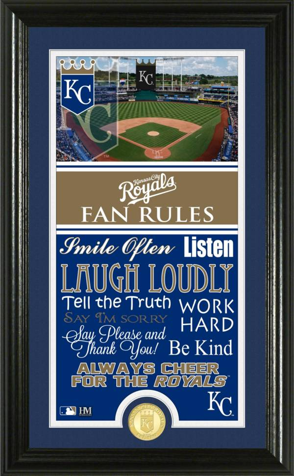 Highland Mint Kansas City Royals Fan Rules Coin Photo Mint product image