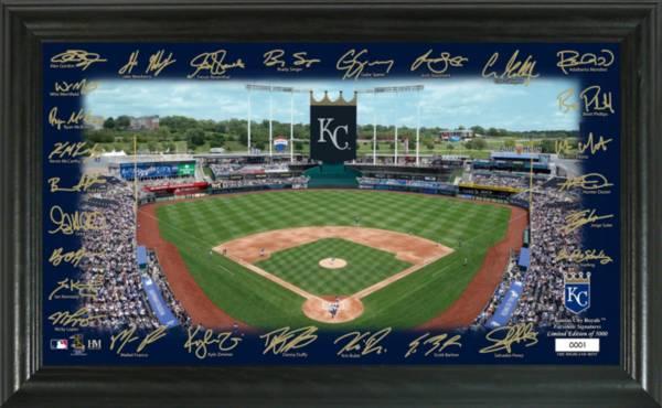 Highland Mint Kansas City Royals 2020 Signature Field Photo Frame product image