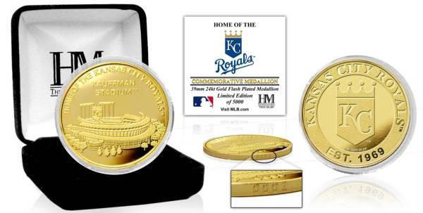 Highland Mint Kansas City Royals Stadium Gold Coin product image