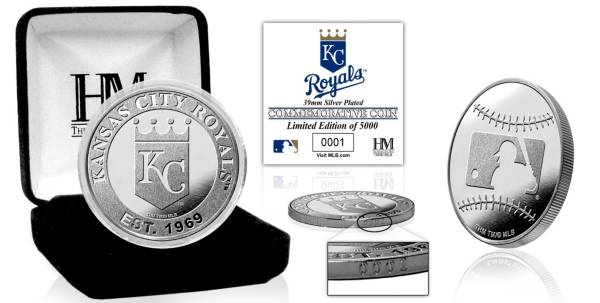 Highland Mint Kansas City Royals Silver Team Coin product image