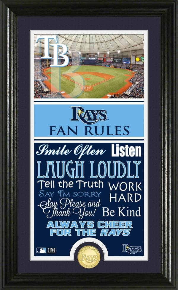 Highland Mint Tampa Bay Rays Fan Rules Coin Photo Mint product image