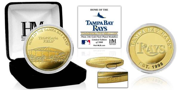 Highland Mint Tampa Bay Rays Stadium Gold Coin product image