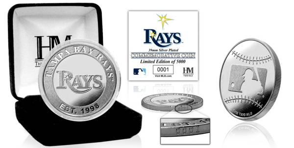 Highland Mint Tampa Bay Rays Silver Team Coin product image