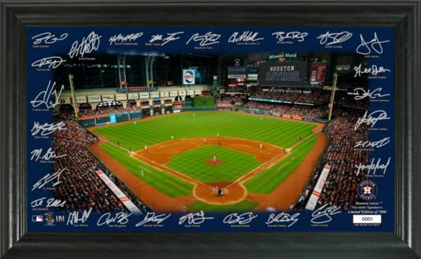 Highland Mint Houston Astros 2020 Signature Field Photo Frame product image