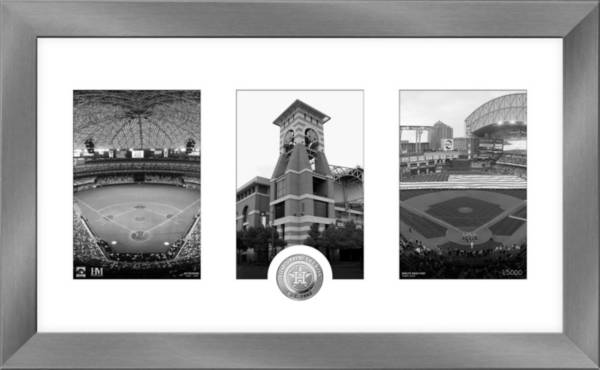 Highland Mint Houston Astros Art Deco Silver Coin Photo Mint product image