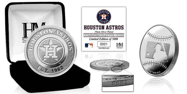 Highland Mint Houston Astros Silver Team Coin product image