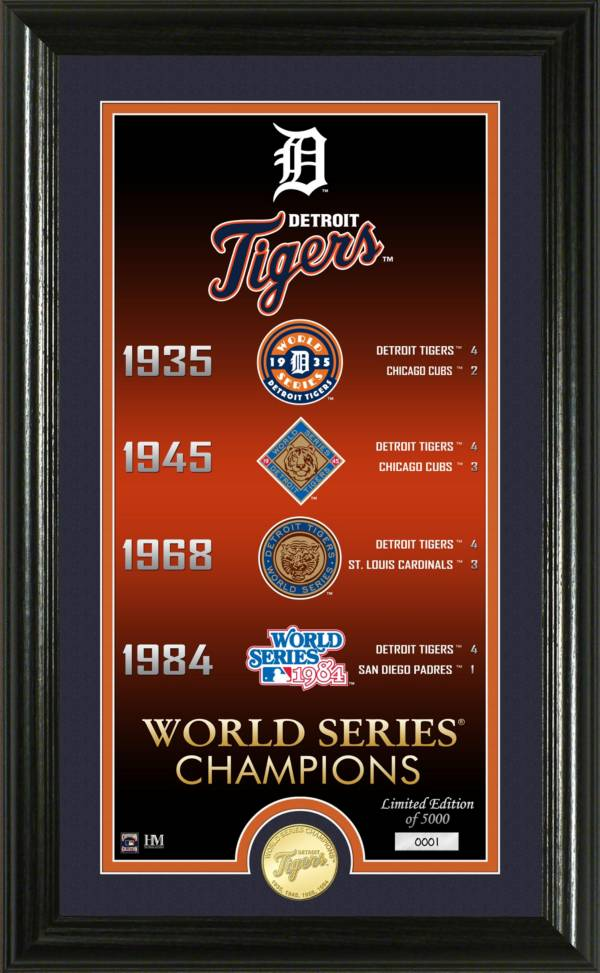 Highland Mint Detroit Tigers Bronze Coin Photo Mint product image