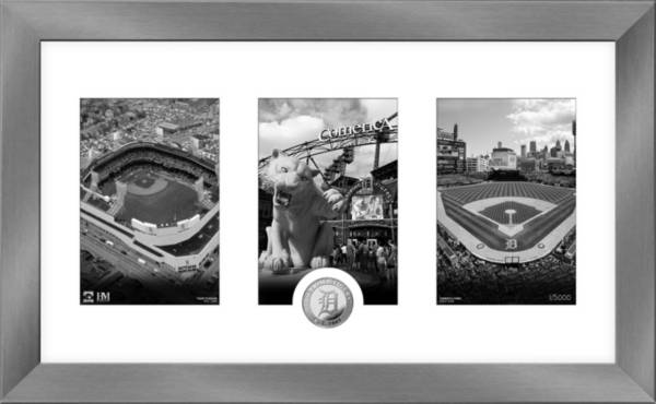 Highland Mint Detroit Tigers Art Deco Silver Coin Photo Mint product image