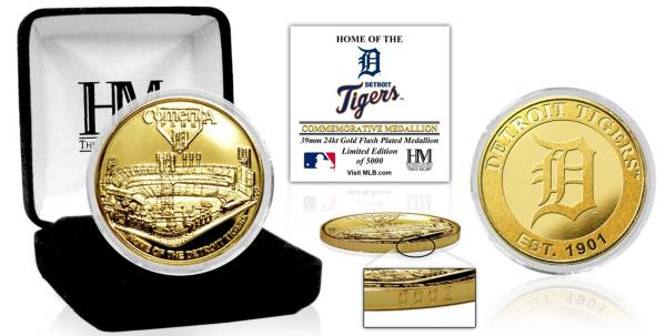 Highland Mint Detroit Tigers Stadium Gold Coin product image