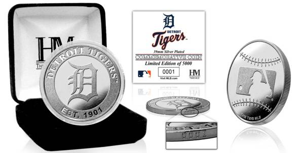 Highland Mint Detroit Tigers Silver Team Coin product image