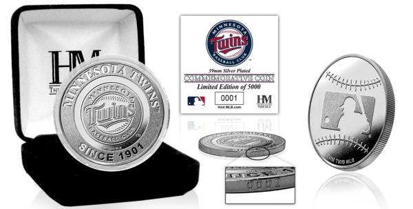 Highland Mint Minnesota Twins Silver Team Coin product image