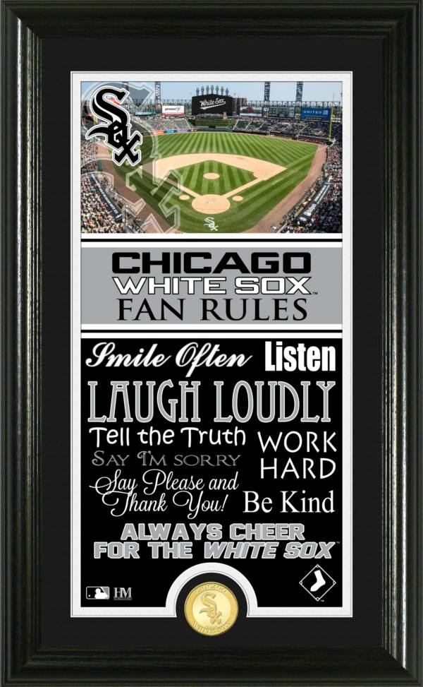 Highland Mint Chicago White Sox Fan Rules Coin Photo Mint product image