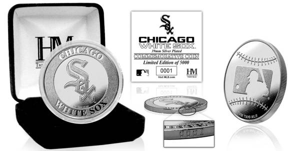 Highland Mint Chicago White Sox Silver Team Coin product image