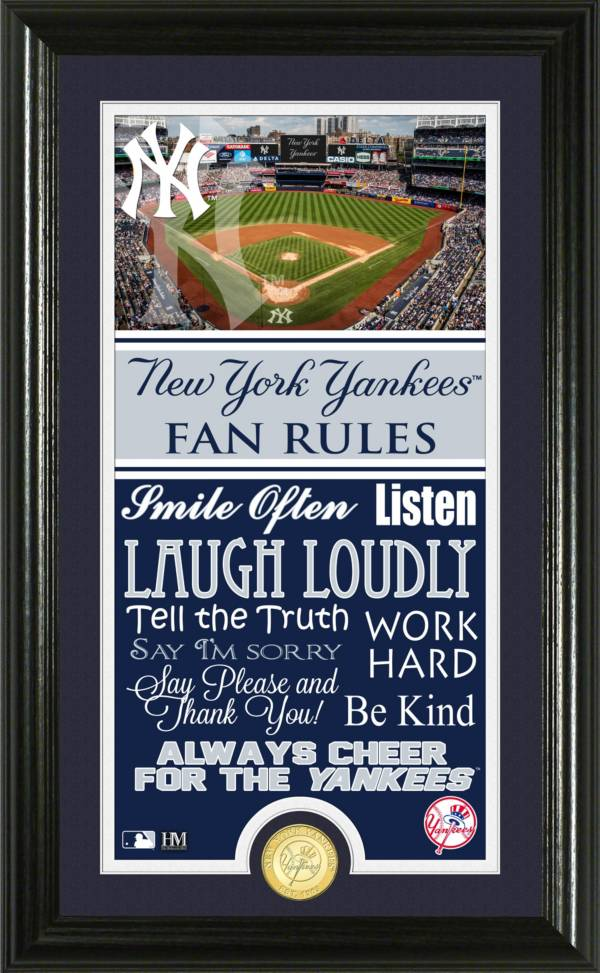 Highland Mint New York Yankees Fan Rules Coin Photo Mint product image