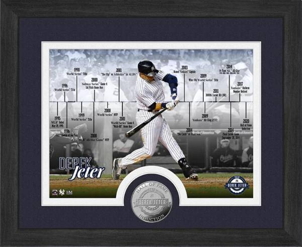 Highland Mint New York Yankees Derek Jeter Hall Of Fame Timeline Photo product image